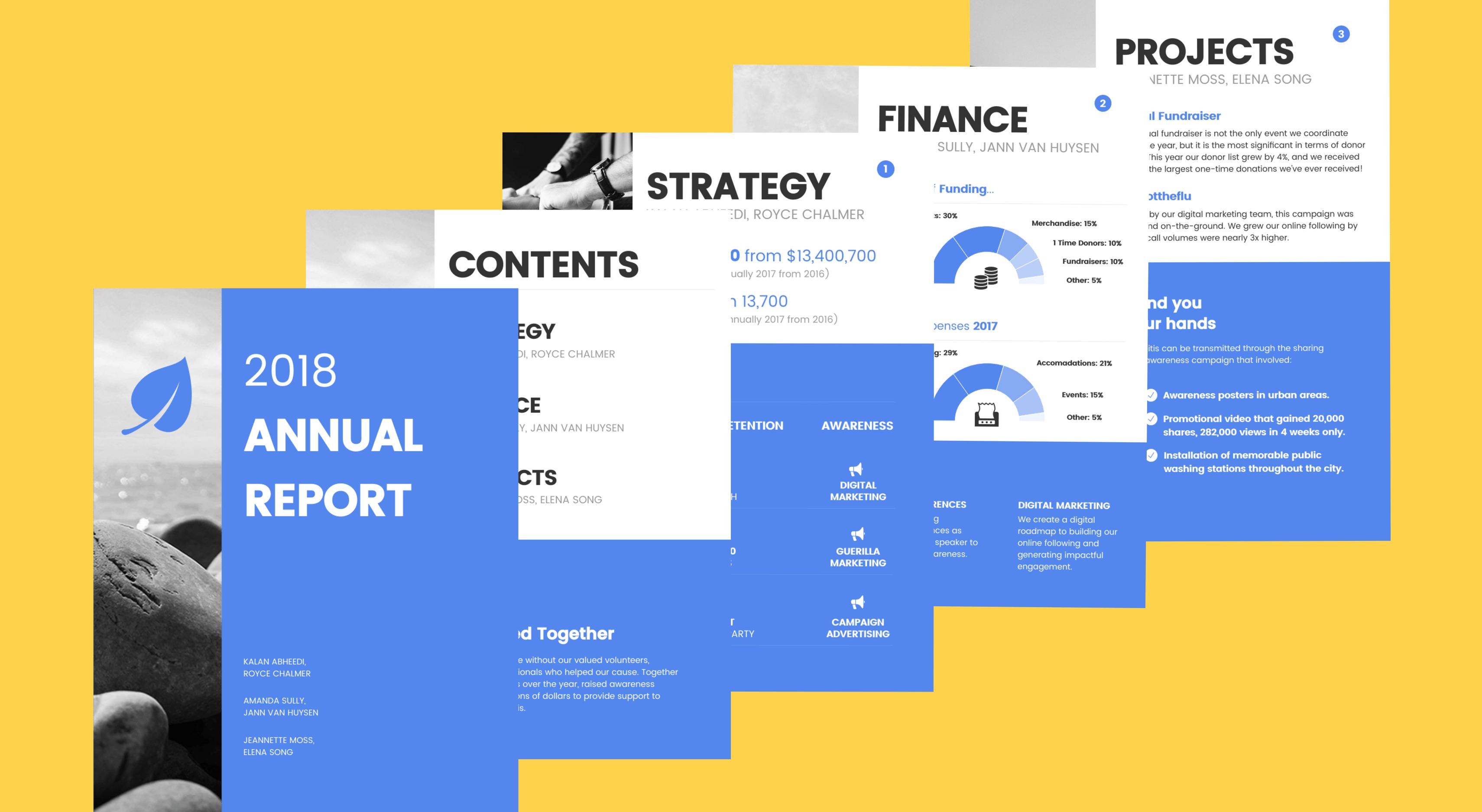 como hacer un informe