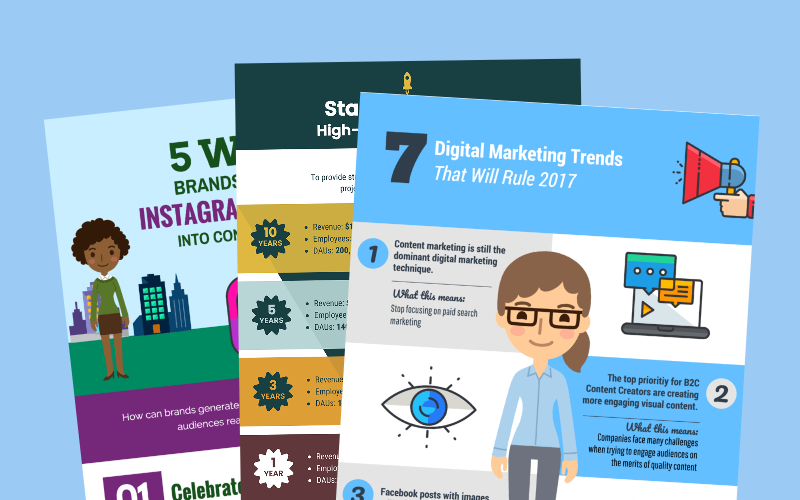 15 Plantillas para InfografIas de Marketing y Consejos para Aumentar el Compromiso de tu Audiencia