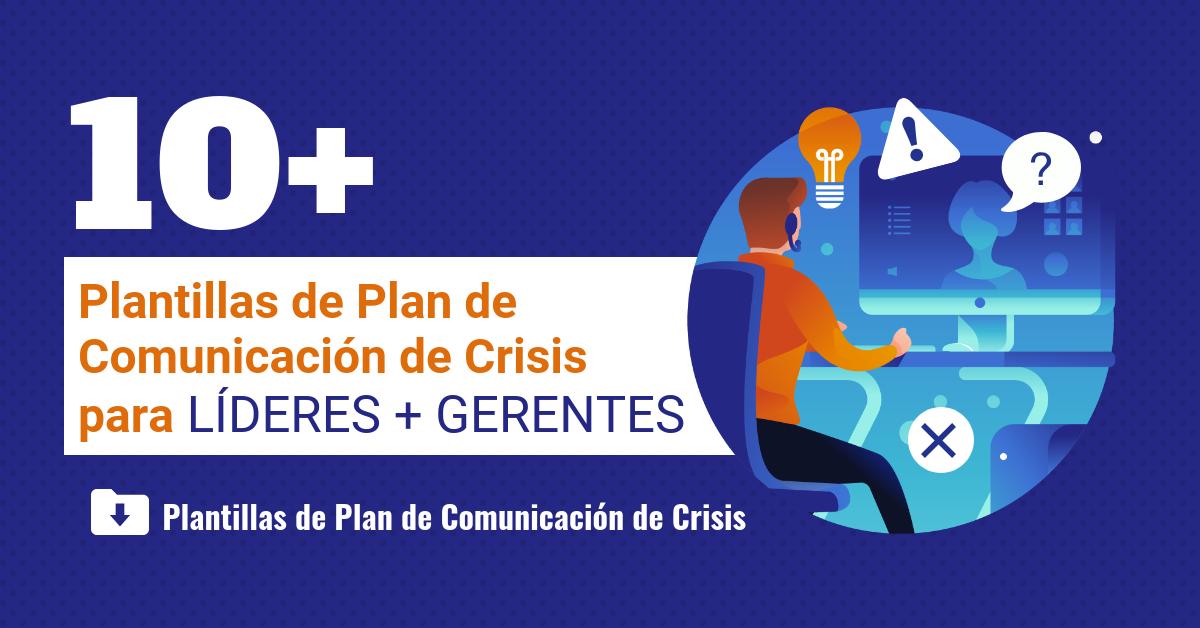 Plantillas plan de comunicacion de crisis