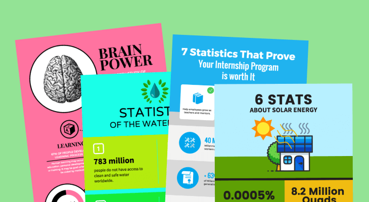 infografía estadística